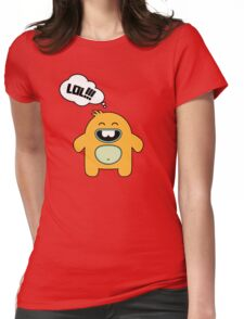 Cute Monsters Womens Fitted T-Shirt