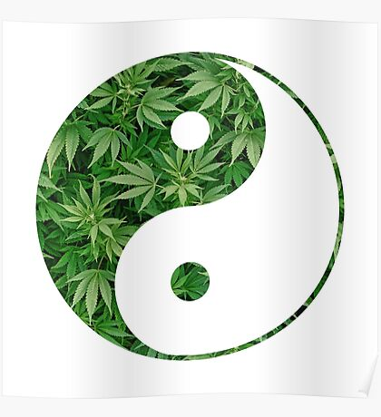 Ying and Yang dope Poster