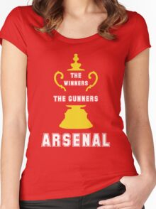 Asenal FC - The Gunners - goners Women's Fitted Scoop T-Shirt