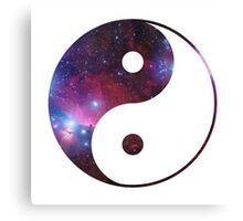 Ying and yang galaxy Canvas Print