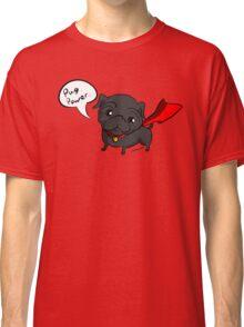 'Super' Cute Pug  Classic T-Shirt