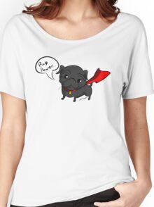 'Super' Cute Pug  Women's Relaxed Fit T-Shirt