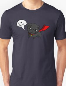 'Super' Cute Pug  Unisex T-Shirt