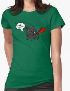 'Super' Cute Pug  Womens Fitted T-Shirt