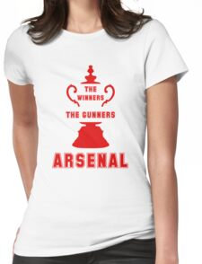 Asenal FC - The Gunners - goners Womens Fitted T-Shirt