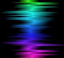 Beats Drop; Abstract Digital Vector Art by Mynameisparrish