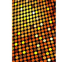 Red Color Blind; Abstract Digital Vector Art Photographic Print