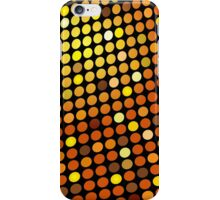 Red Color Blind; Abstract Digital Vector Art iPhone Case/Skin