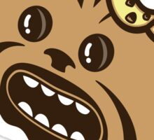 Wookie Cookie Ice Cream (sticker) Sticker