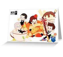 Doctor Who / New Doctors Greeting Card