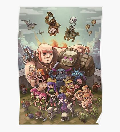 Clash Royale Poster, Cover ecc... Poster