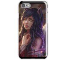 Ahri - Portrait - League of Legends iPhone Case/Skin