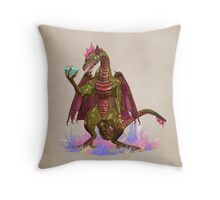 Magical Dragon Throw Pillow
