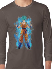 Goku Super Saiyan Blue Long Sleeve T-Shirt
