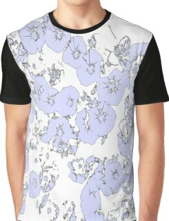 Blue Petunias Graphic T-Shirt