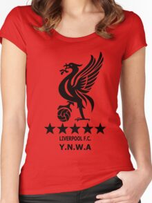 Liverpool - Ynwa Women's Fitted Scoop T-Shirt