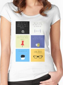 Last Words - John Green edition Women's Fitted Scoop T-Shirt