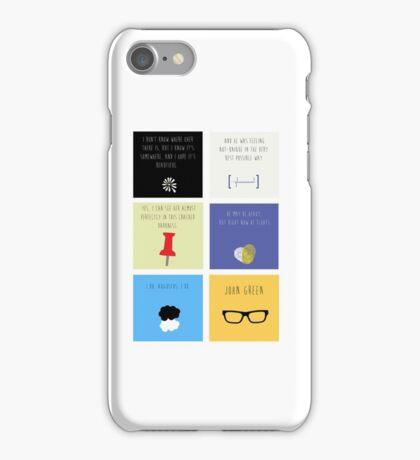 Last Words - John Green edition iPhone Case/Skin