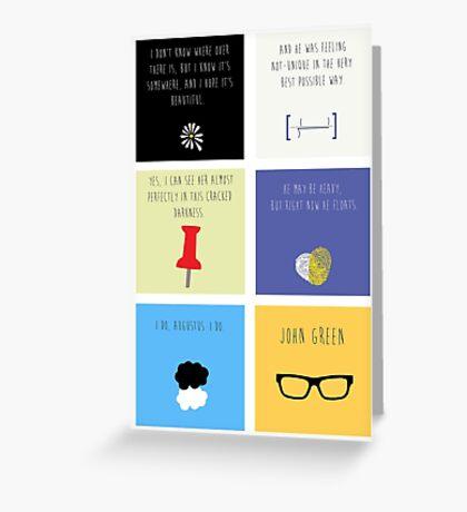 Last Words - John Green edition Greeting Card