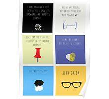 Last Words - John Green edition Poster