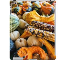 Corn and Gourds iPad Case/Skin