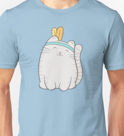 fin, the cat Unisex T-Shirt