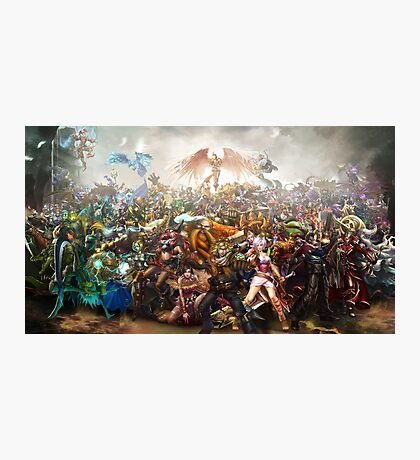 League of Legends - All Champions Photographic Print