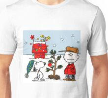 CHARLIE BROWN CHRISTMAS PEANUTS SNOOPY AYU 2 Unisex T-Shirt
