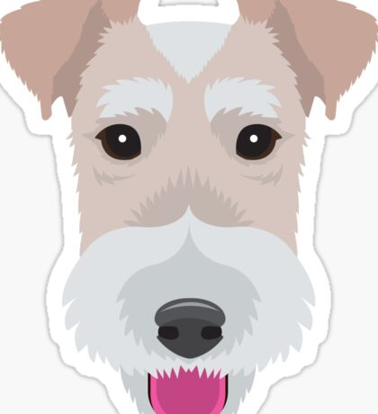Wire Fox Terrier Sticker
