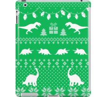Dinosaur Ugly Sweater Funny Christmas iPad Case/Skin