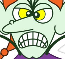 Scary Halloween Witch Emoticon Sticker