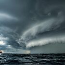 Fishing up a storm by Henry  Cook