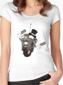 The Gentleman Caller Women's Fitted Scoop T-Shirt