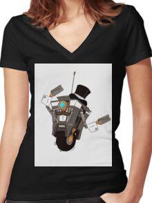The Gentleman Caller Women's Fitted V-Neck T-Shirt