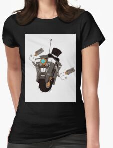 The Gentleman Caller Womens Fitted T-Shirt