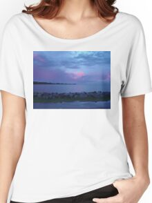 Sunset over Woody Point Queensland Australia Women's Relaxed Fit T-Shirt