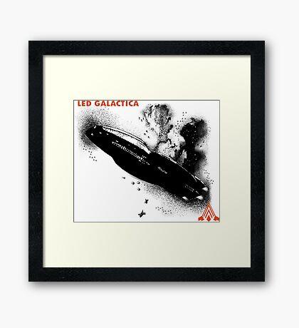 Led Galactica Framed Print