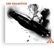 Led Galactica Canvas Print