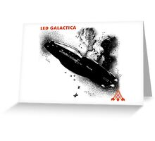 Led Galactica Greeting Card