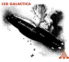 Led Galactica Photographic Print