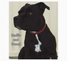Staffie and Proud Baby Tee