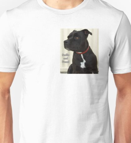 Staffie and Proud Unisex T-Shirt