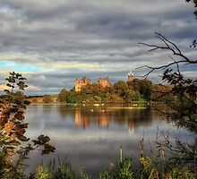 Linlithgow Loch and Palace, Long Exposure by Miles Gray