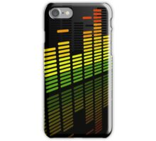Comfortably Loud; Abstract Digital Vector Art iPhone Case/Skin
