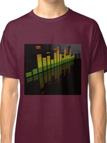 Comfortably Loud; Abstract Digital Vector Art Classic T-Shirt