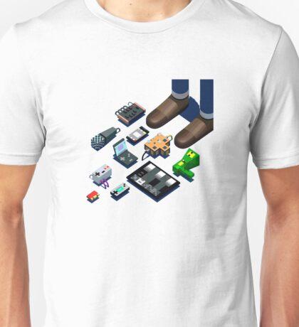 Nanoloop Chiptune 8-bit Unisex T-Shirt