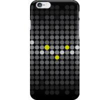 These are Dots; Abstract Digital Vector Art iPhone Case/Skin