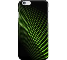 Fluid Motion; Abstract Digital Vector Art iPhone Case/Skin