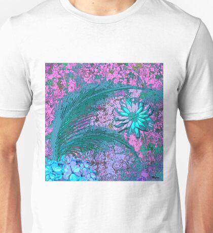 Turquois Fern Unisex T-Shirt