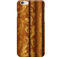 Golden Curtain Call; Abstract Digital Vector ArtGolden  iPhone Case/Skin